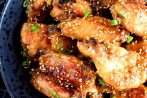 Honey Garlic Chicken Wings