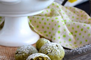 Matcha Green Tea Snowballs