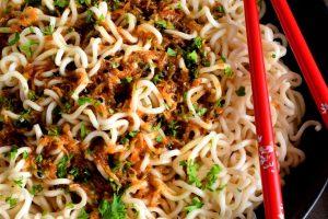 Garlic Ginger Sesame Soy Noodle Sauce