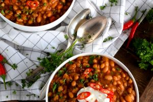 Spicy White Bean Vegetarian Chili