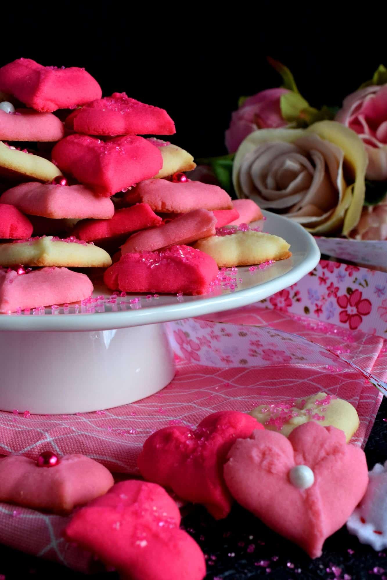 Valentine Spritz Cookies