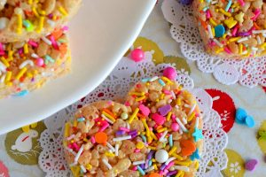 Cookie Cutter Rice Krispy Treats