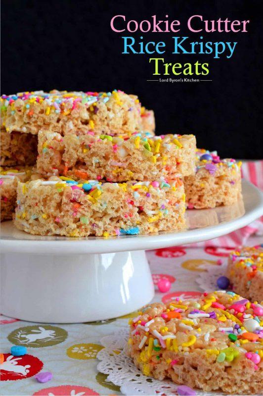 Cookie Cutter Rice Krispy Treats