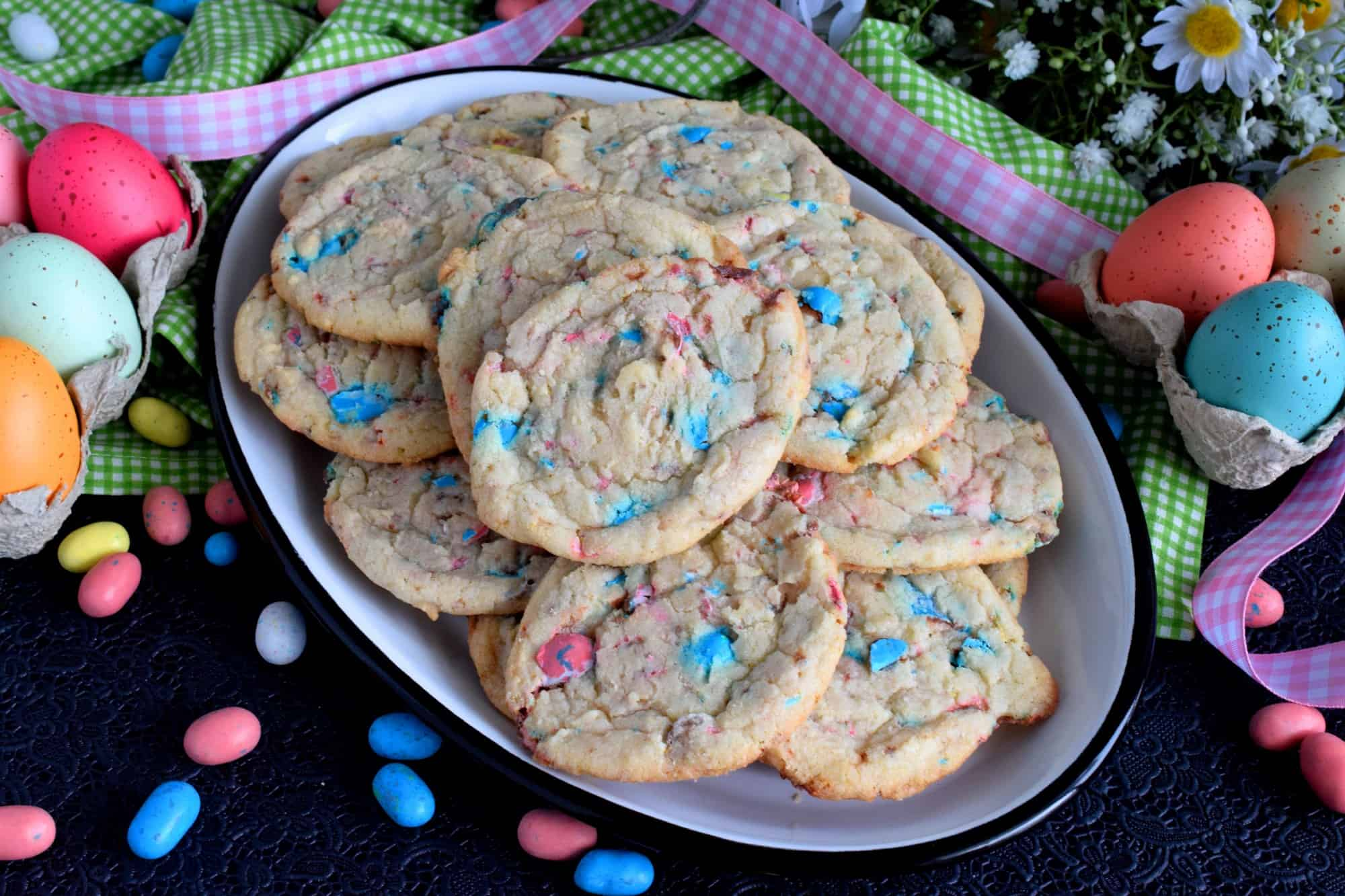 Easter Bunny Roadkill Cookie