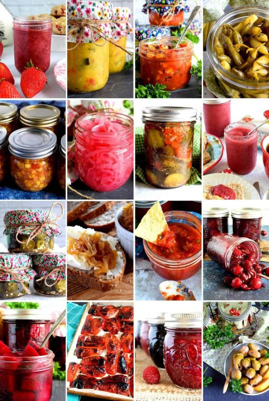 16 Preserved and Pickled Recipes - Lord Byron's Kitchen