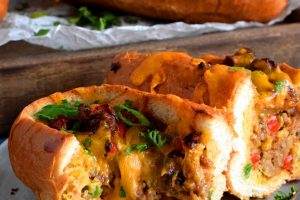 Egg And Sausage Breakfast Rolls