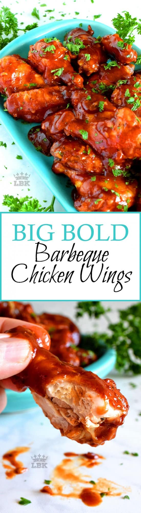 Big Bold Barbeque Wings - Lord Byron's Kitchen