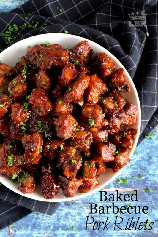 Baked Barbecue Pork Riblets