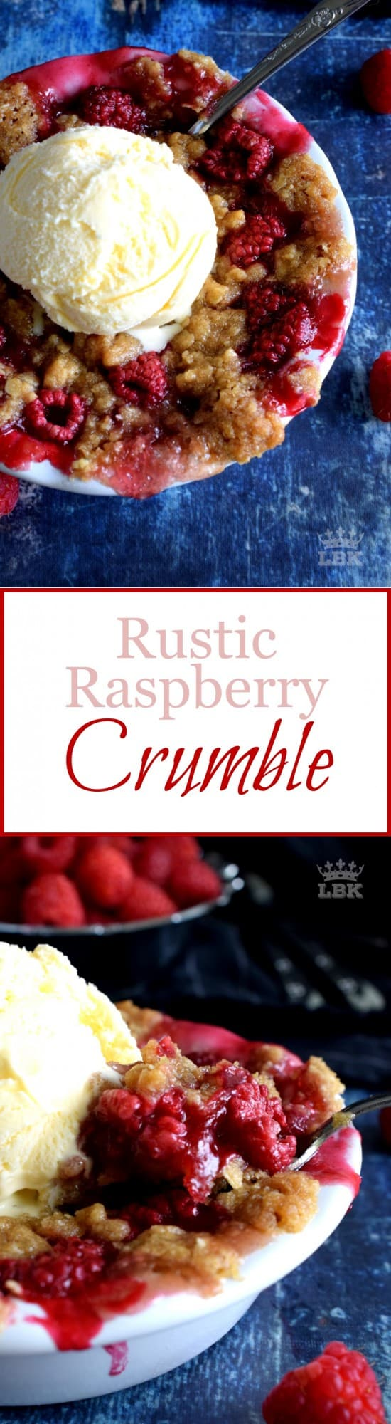 Rustic Raspberry Crumble