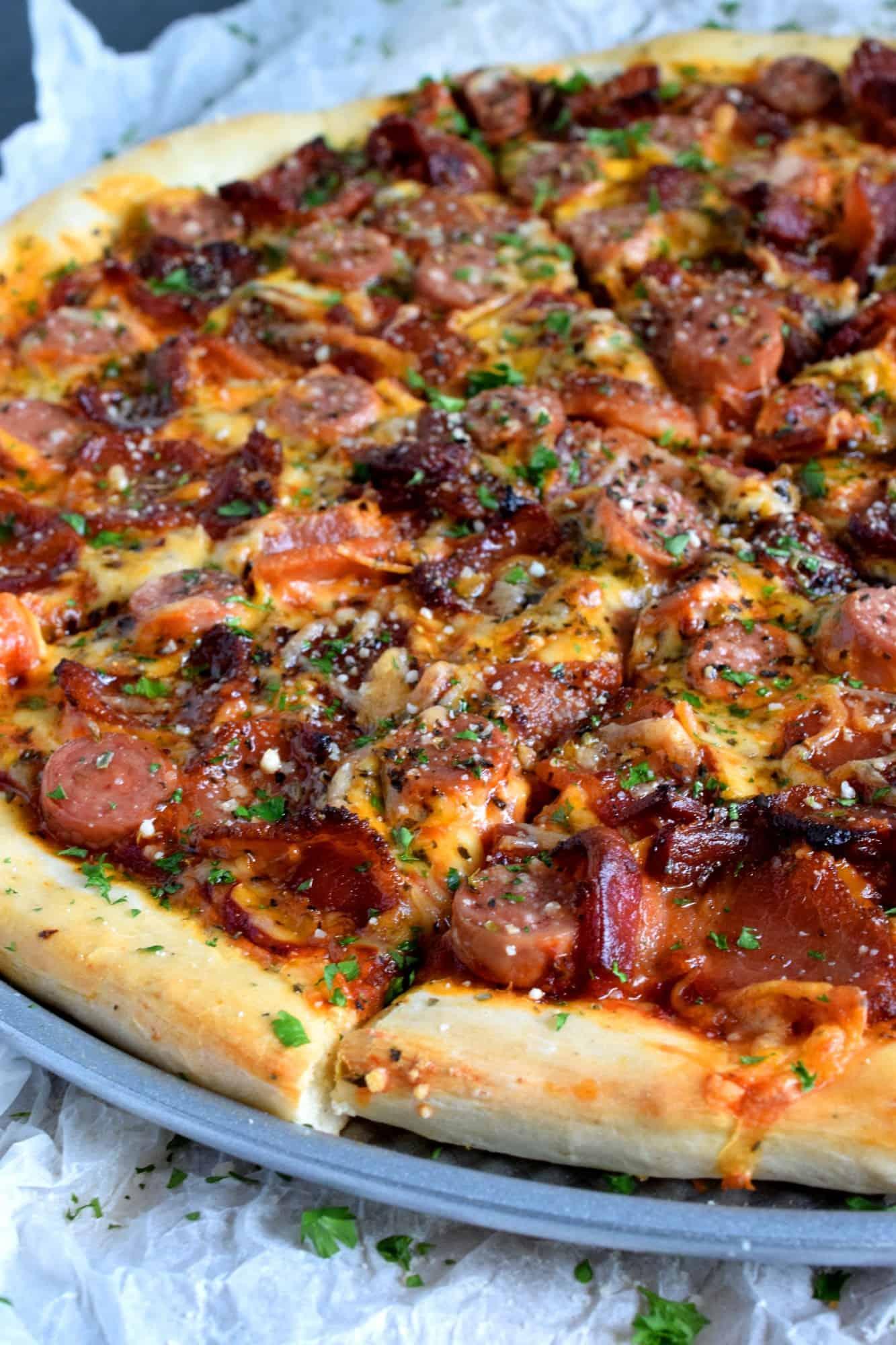 Homemade Newfoundland Pizza
