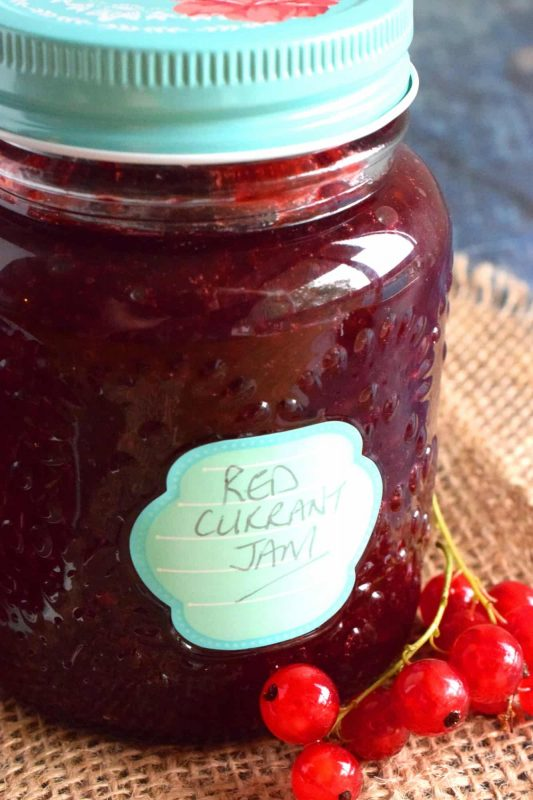 Red Currant Jam - Lord Byron's Kitchen