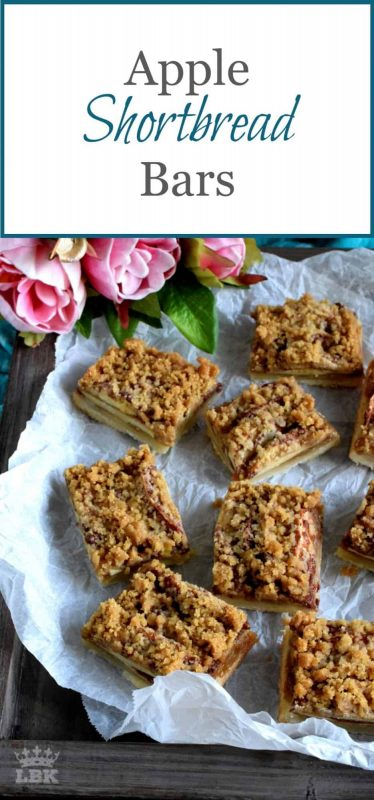 Apple Shortbread Bars