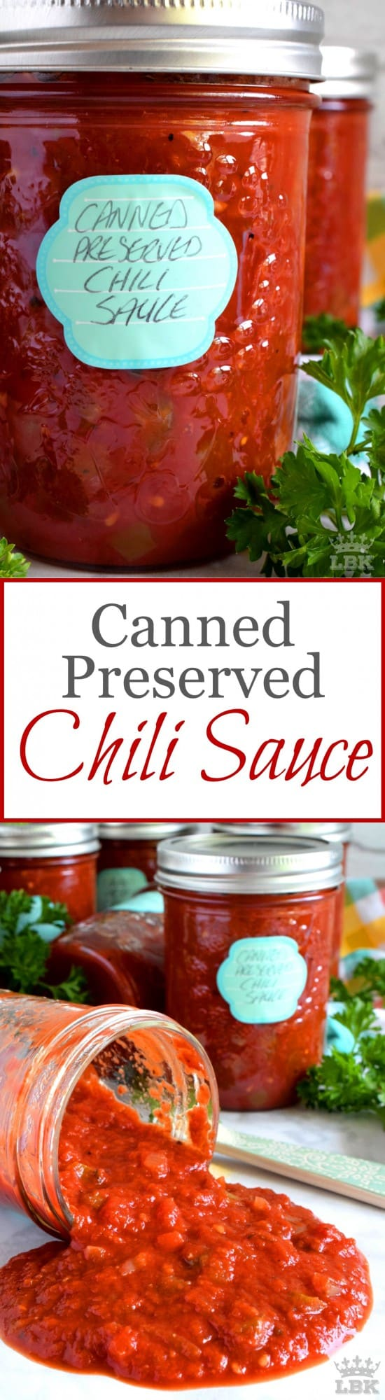 Canned Preserved Chili Sauce - Lord