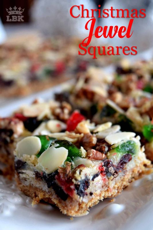 Christmas Jewel Squares