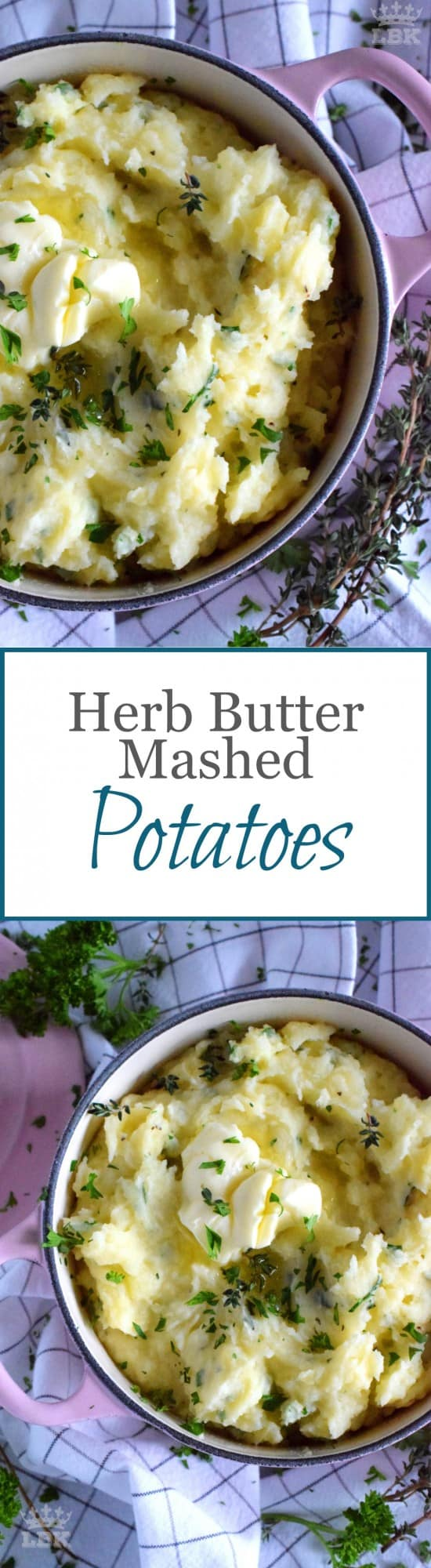 Herb Butter Mashed Potatoes