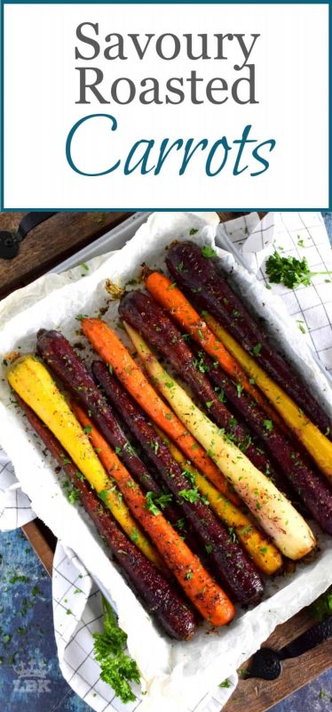 Savoury Roasted Carrots
