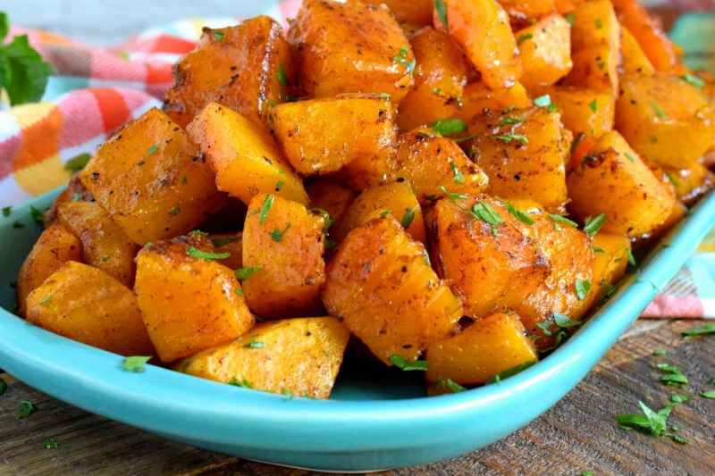 Maple Glazed Squash