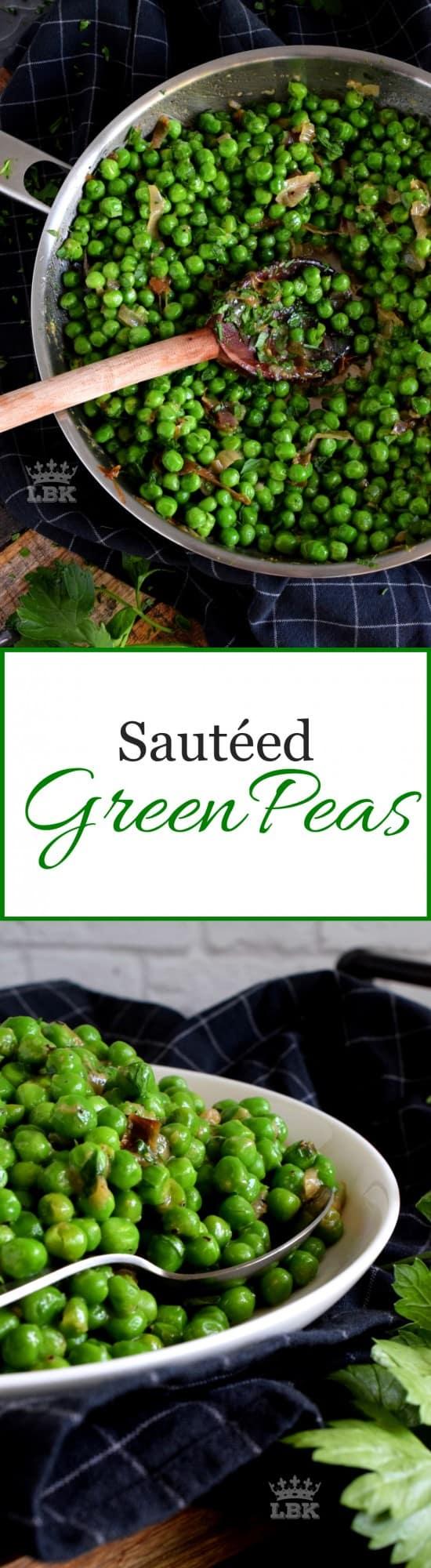 Sauteed Green Peas