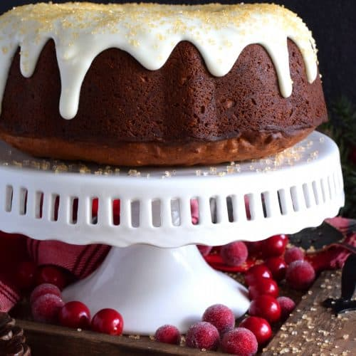 Christmas Mixed Nut Bundt Cake