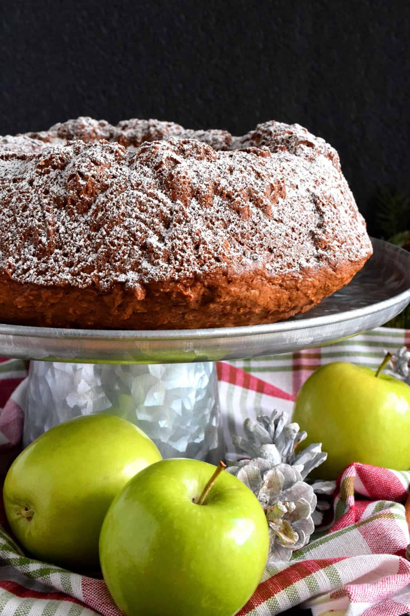 Holiday Apple Spiced Bundt Cake