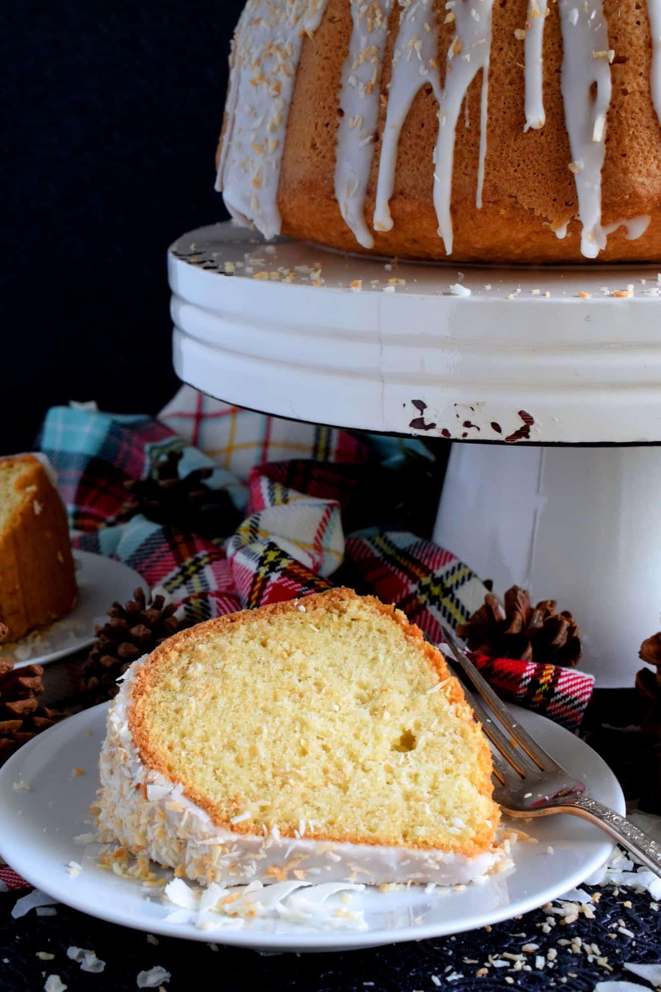 Toasted Coconut Bundt Cake