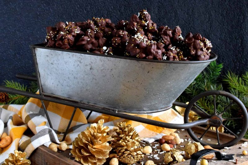 Mixed Nut Chocolate Clusters