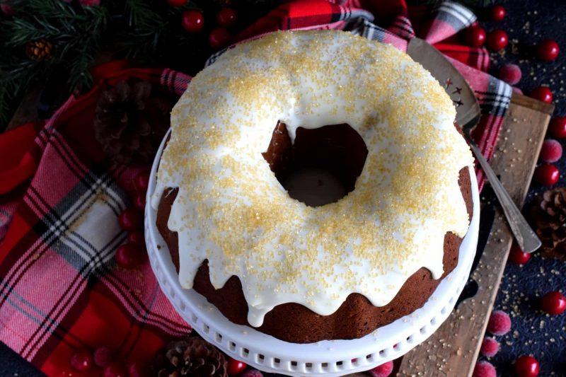 Christmas Mixed Nut Bundt Cake