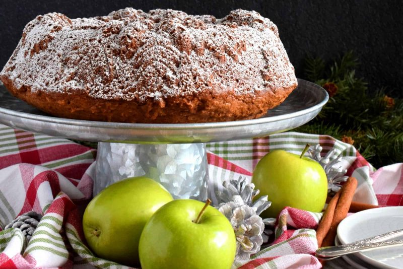 Holiday Apple Spiced Bundt Cake
