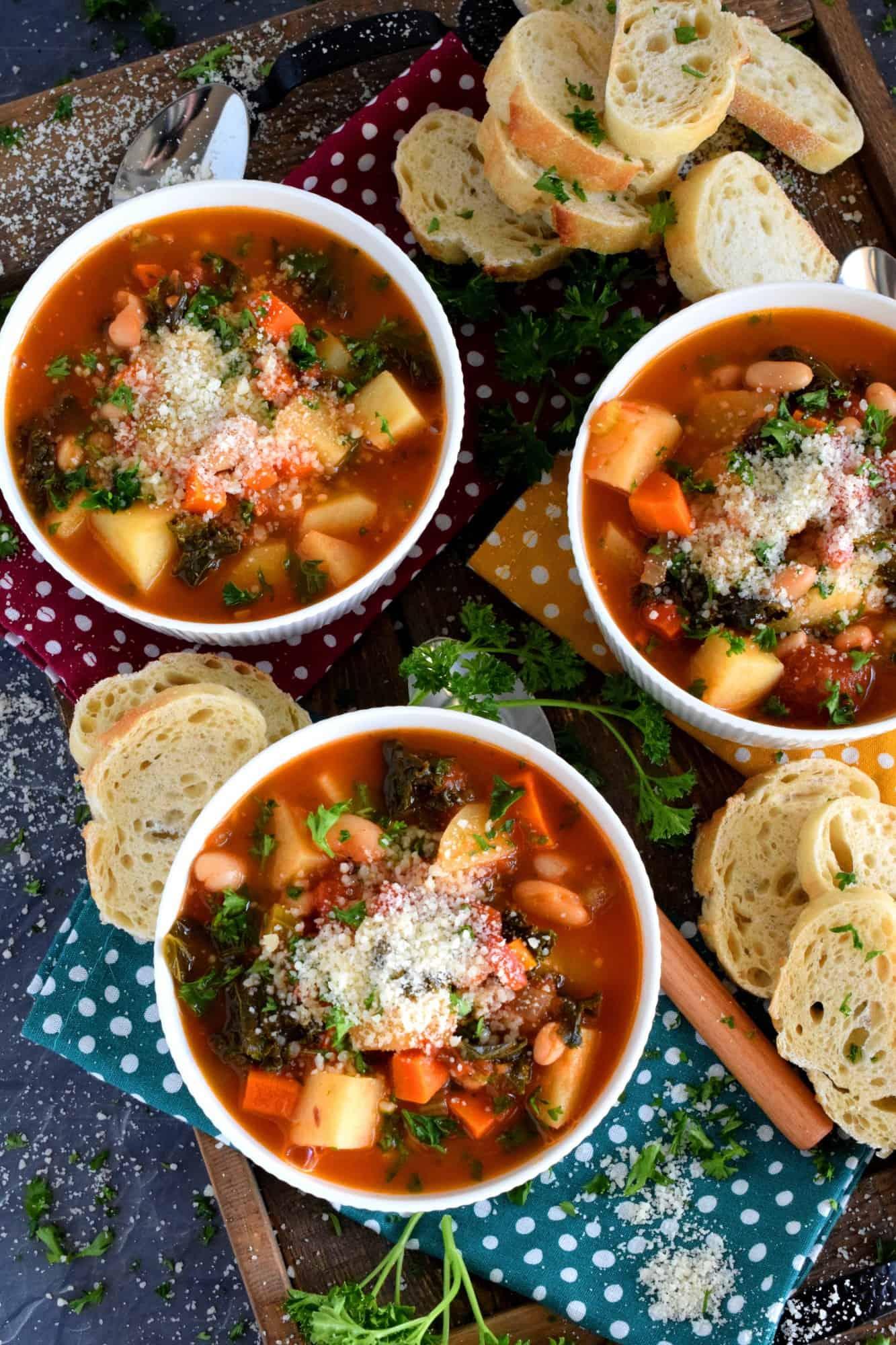Tuscan Potato Bean Soup