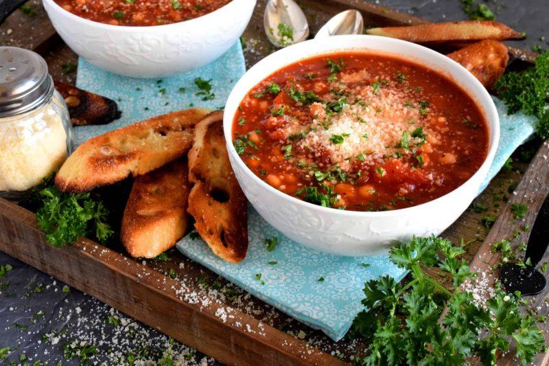 White Bean and Tomato Soup