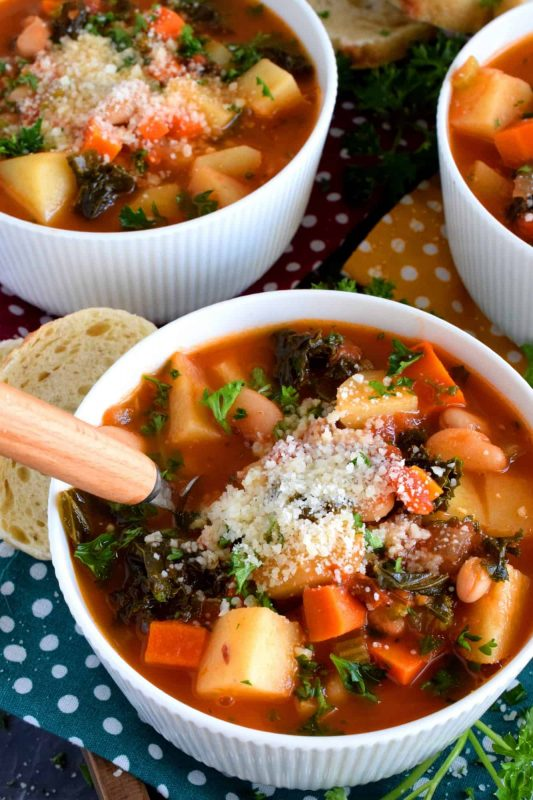 Tuscan Potato Bean Soup