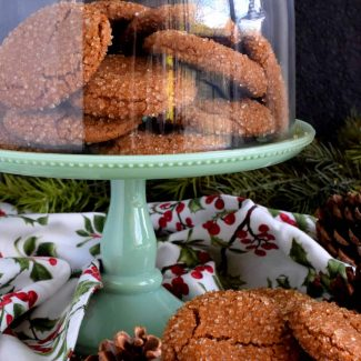 Ginger Molasses Cookies