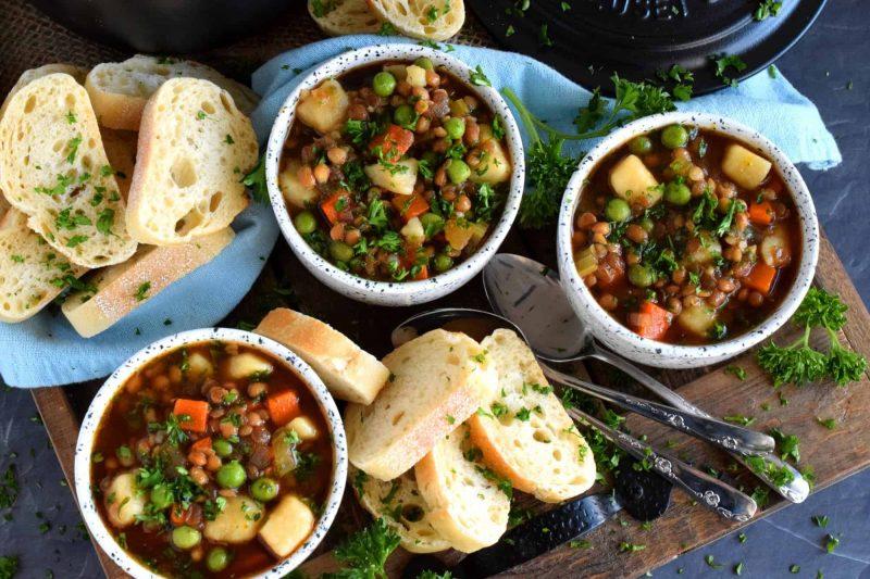 Cold Weather Lentil Soup