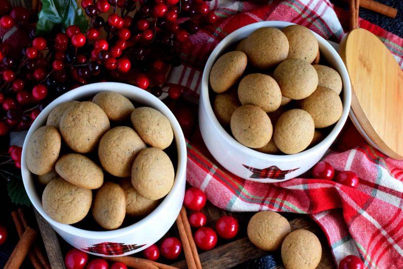 Dutch Pepernoten Cookies
