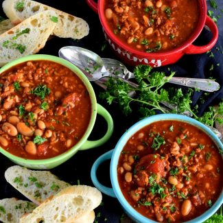 Spicy Chorizo Soup
