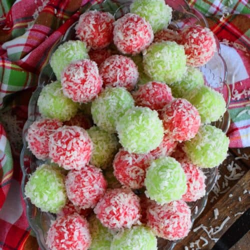 Mom S Christmas Jello Balls Lord Byron S Kitchen