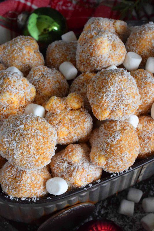 Marshmallow Coconut Balls