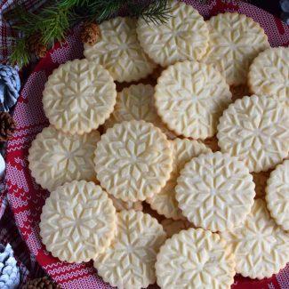 Stamped Shortbread Cookies