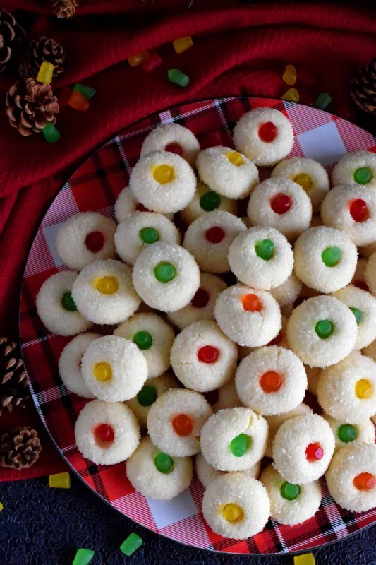 Sugared Gumdrop Cookies