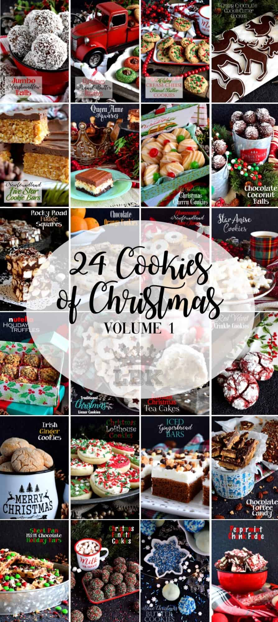 24 Cookies of Christmas - Volume 1