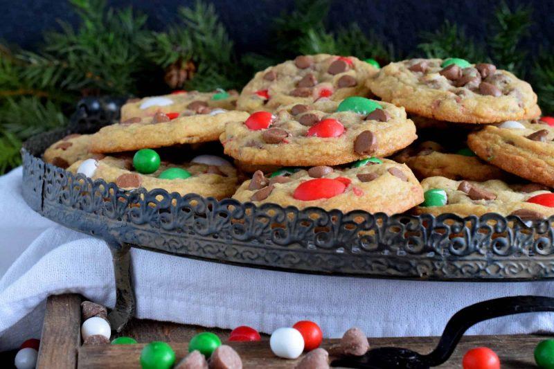 Christmas Mini Egg Cookies