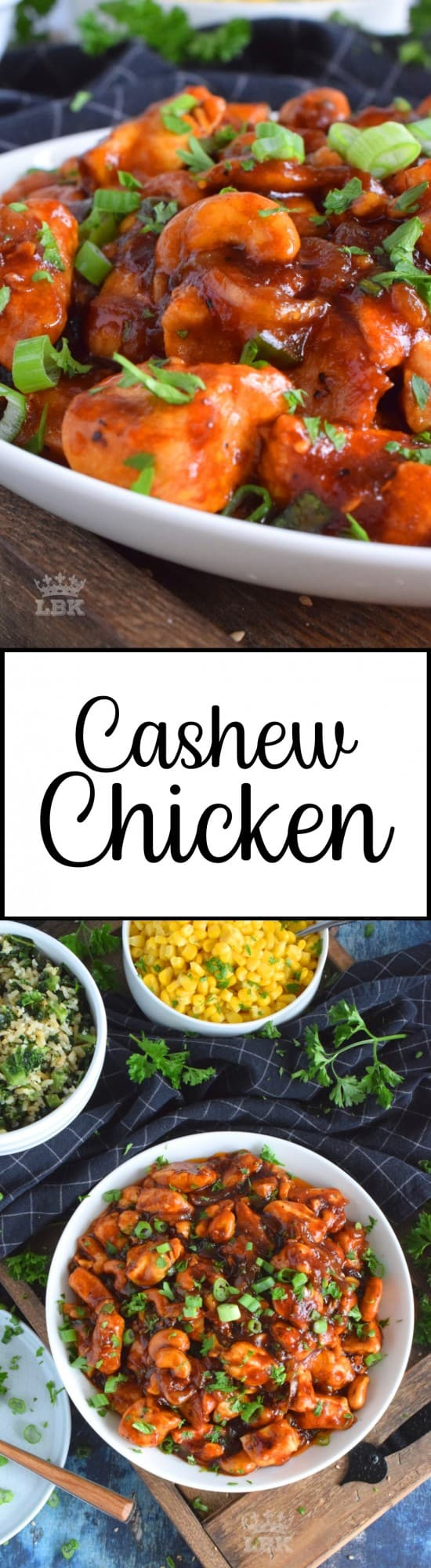 Faster than the time it takes to wait for delivery, Cashew Chicken is made with tender and moist breast meat, whole cashews, and a sweet and savoury sauce.#cashew #chicken #homemade #weeknight