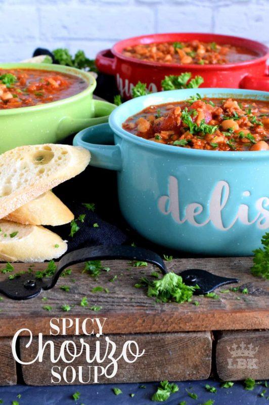 Spicy Chorizo Soup
