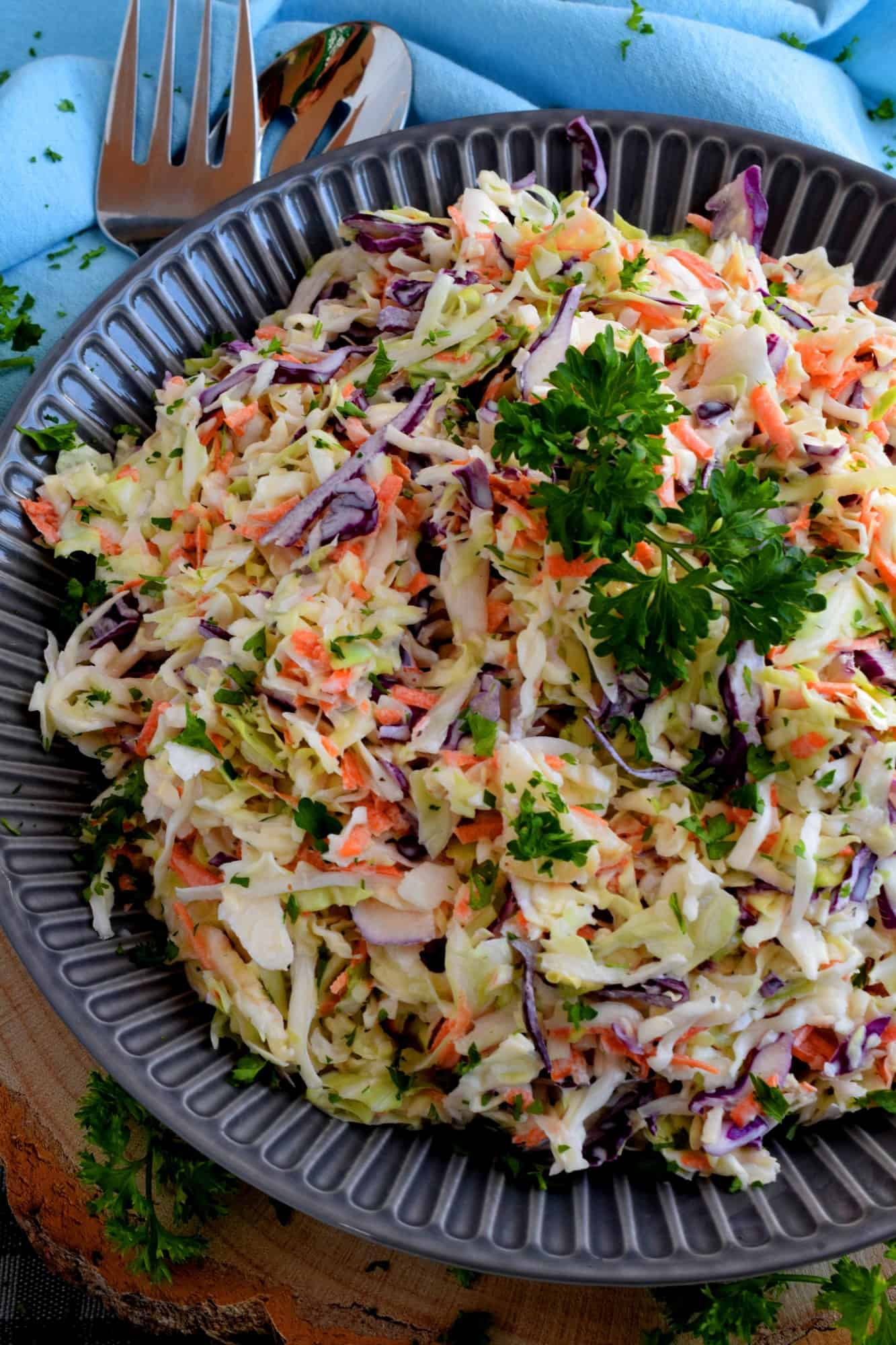Home Style Creamy Coleslaw
