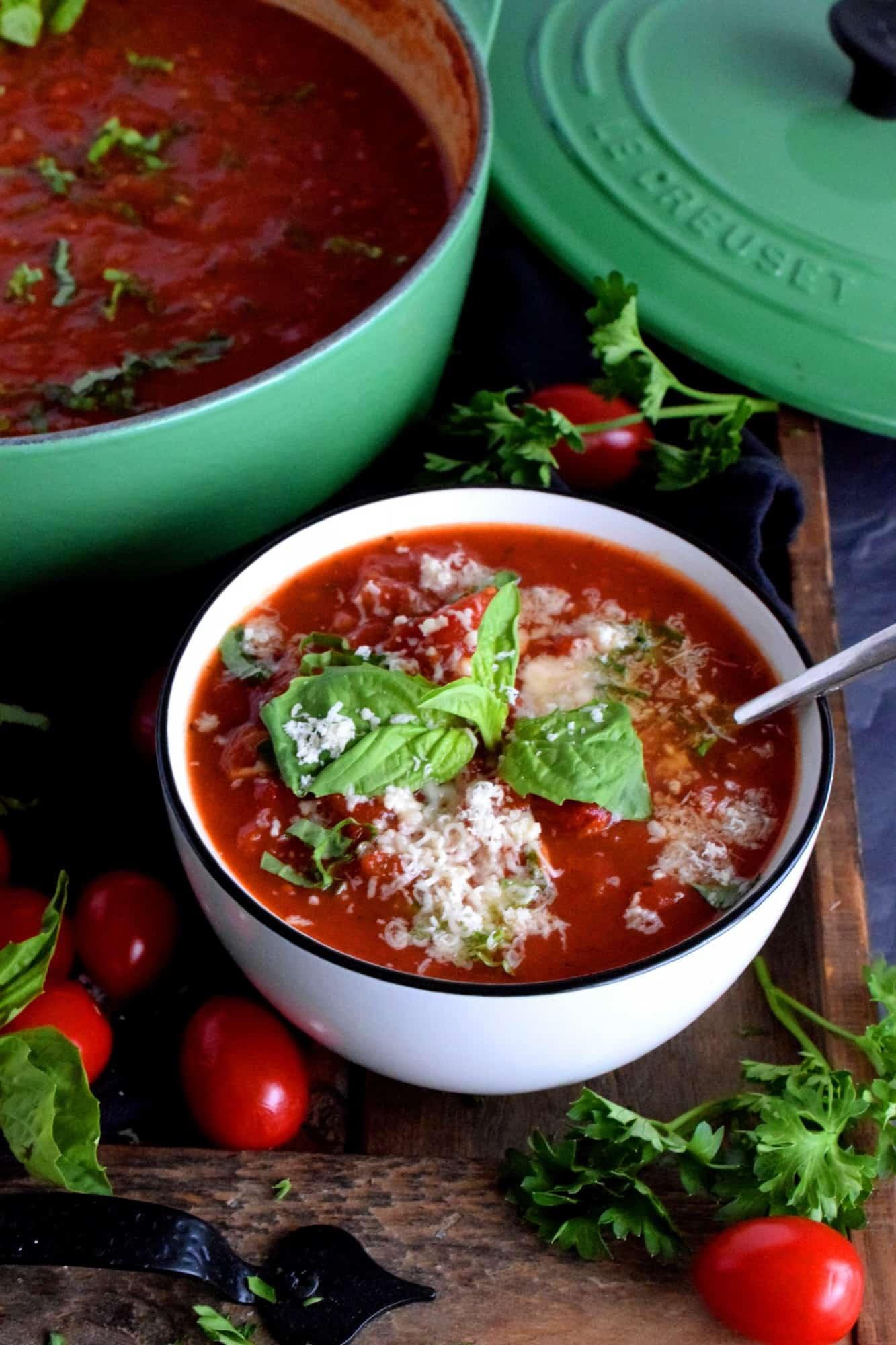 San Marzano Tomato Soup