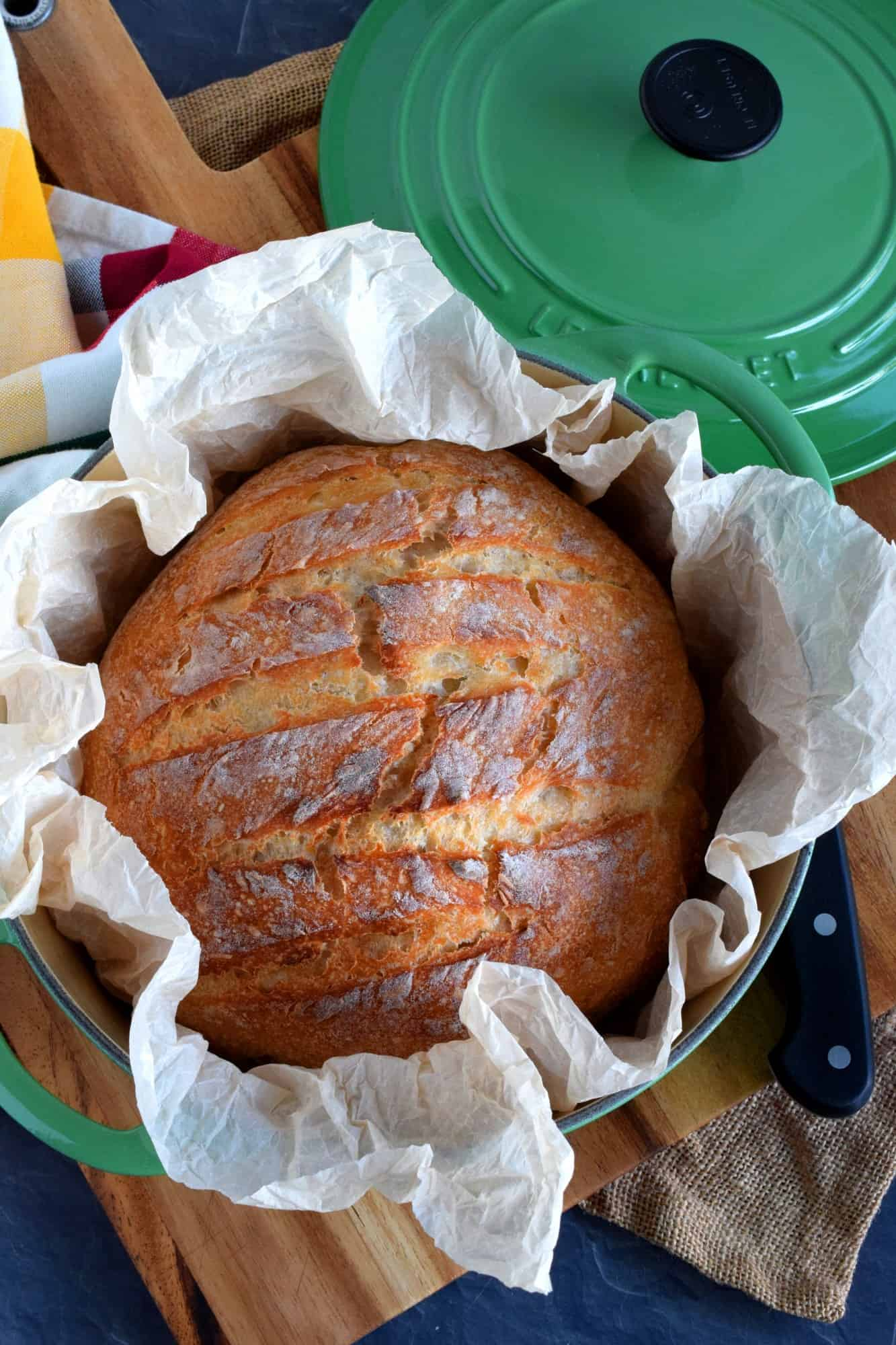 Dutch Oven Artisan Crusty Bread Lord Byron S Kitchen
