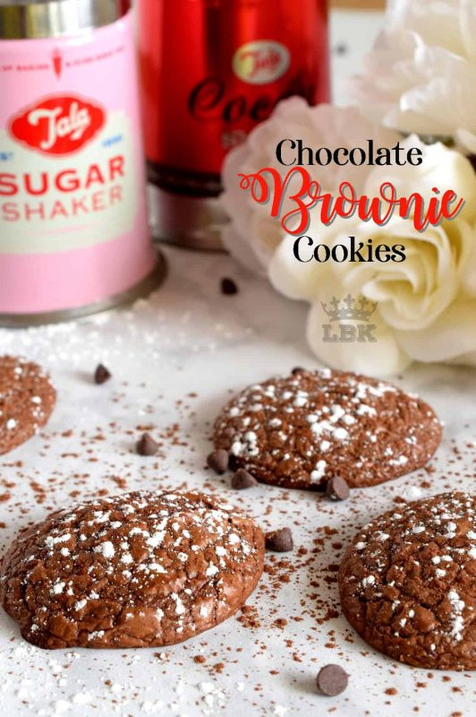Soft, moist, and dainty, Chocolate Brownie Cookies are a way to bring the flavours of a classic fudge brownie to a sophisticated dinner party; this is how the rich, famous, and pretentious might indulge in a brownie! #brownies #cookies #ricardo #chocolate