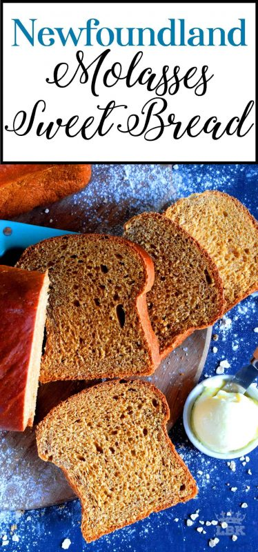 Every culture has traditional foods, and I can't think of one food that I associate with Newfoundland more than Molasses Sweet Bread: a traditional treat! #bread #molasses #sweetbread #newfoundland #newfie #raisin