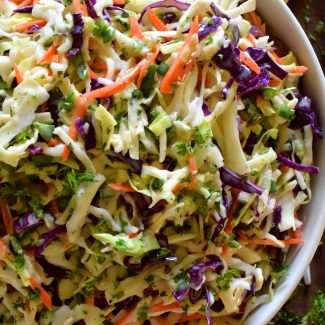 Jalapeno Buttermilk Ranch Coleslaw