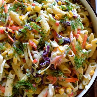Buttermilk Dill Ranch Pasta Salad